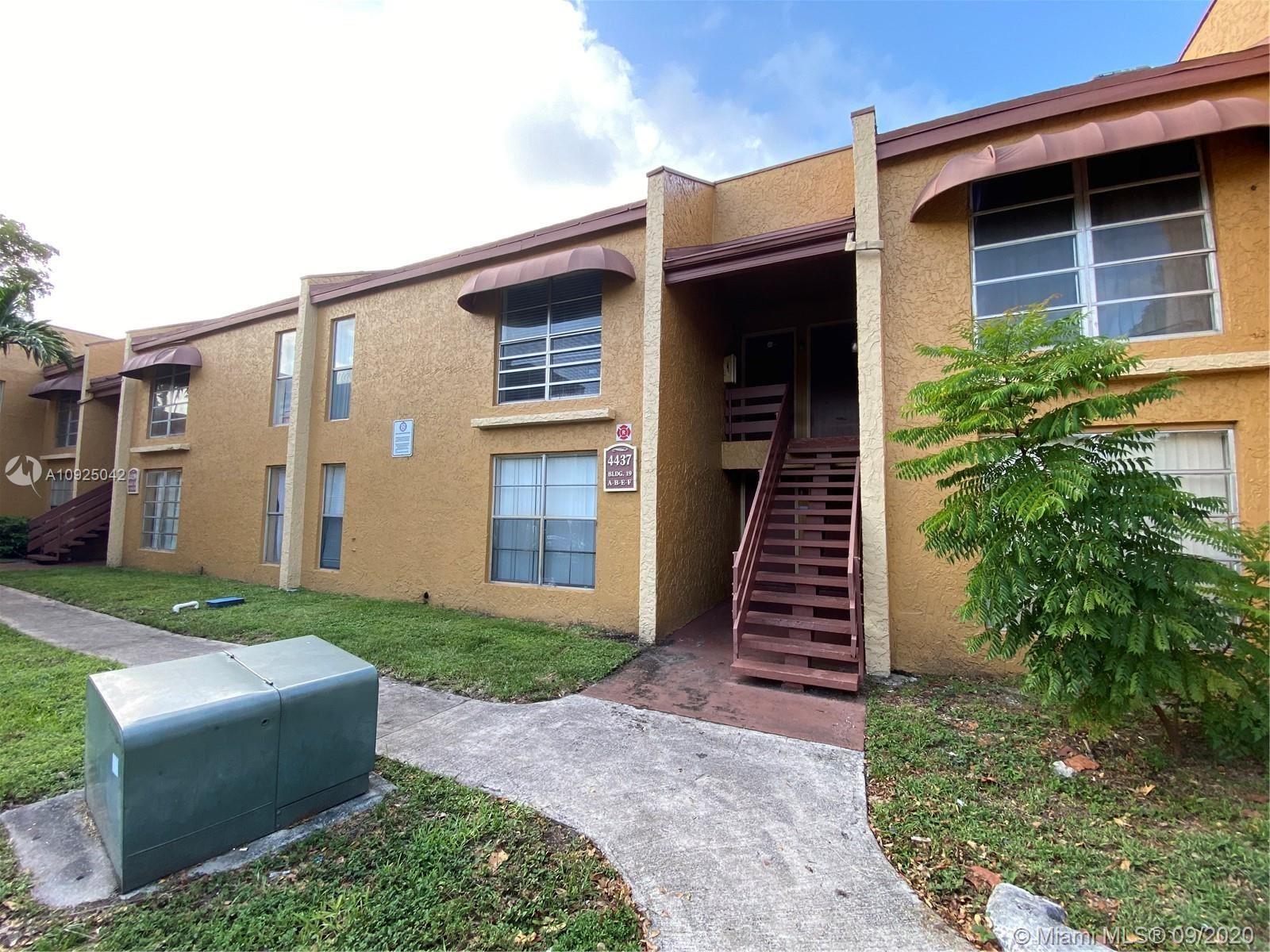 4437 Treehouse Ln #F, Tamarac, FL 33319 - #: A10925042