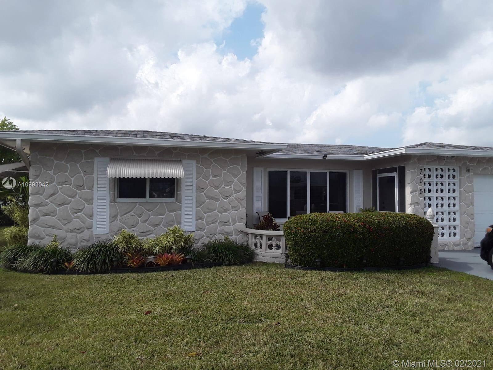 705 NW 73rd Terrace, Margate, FL 33063 - #: A10993042