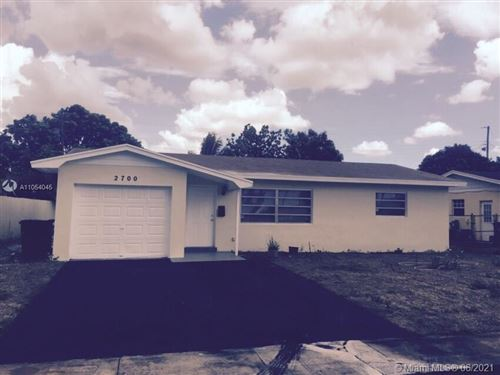 Photo of 2700 NW 35th Ter, Lauderdale Lakes, FL 33311 (MLS # A11054045)