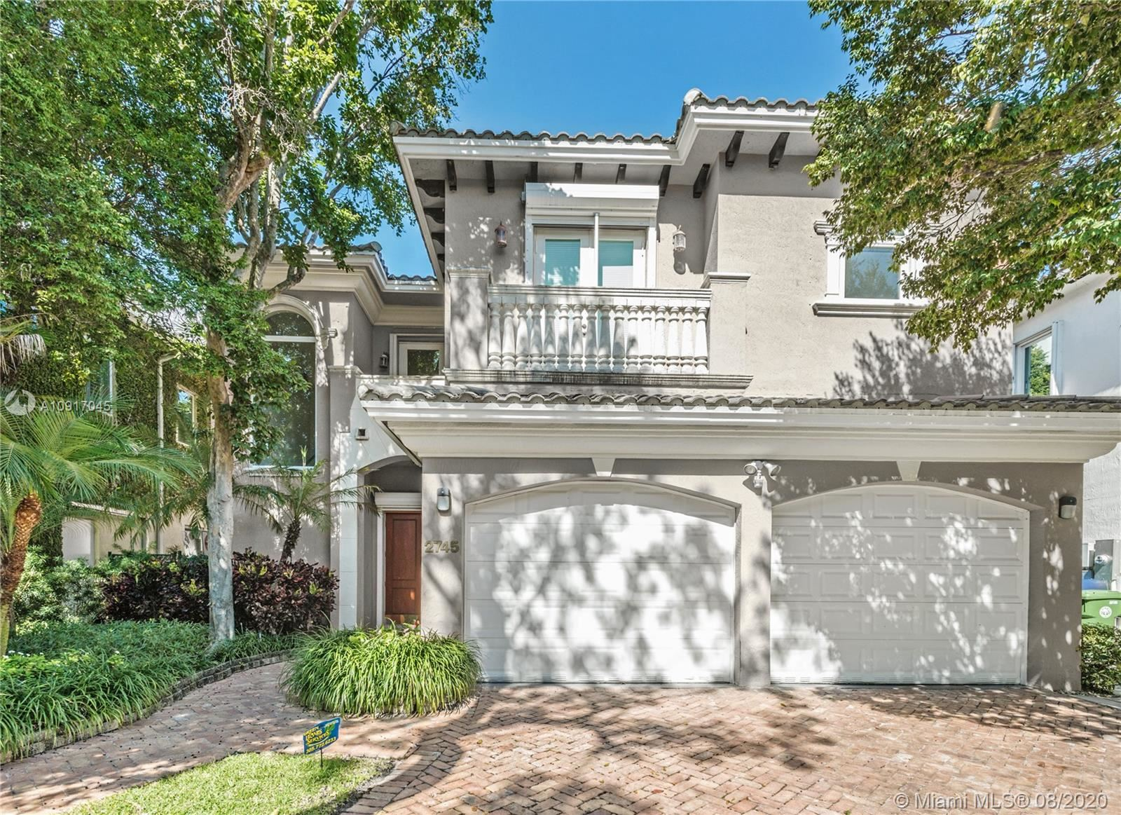 2745 Brickell Ct, Miami, FL 33129 - #: A10917045