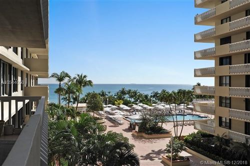 Photo of 9801 COLLINS AVENUE #6H, Bal Harbour, FL 33154 (MLS # A10584050)