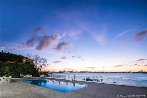 Photo of 10000 W Broadview Dr, Bay Harbor Islands, FL 33154 (MLS # A11013051)