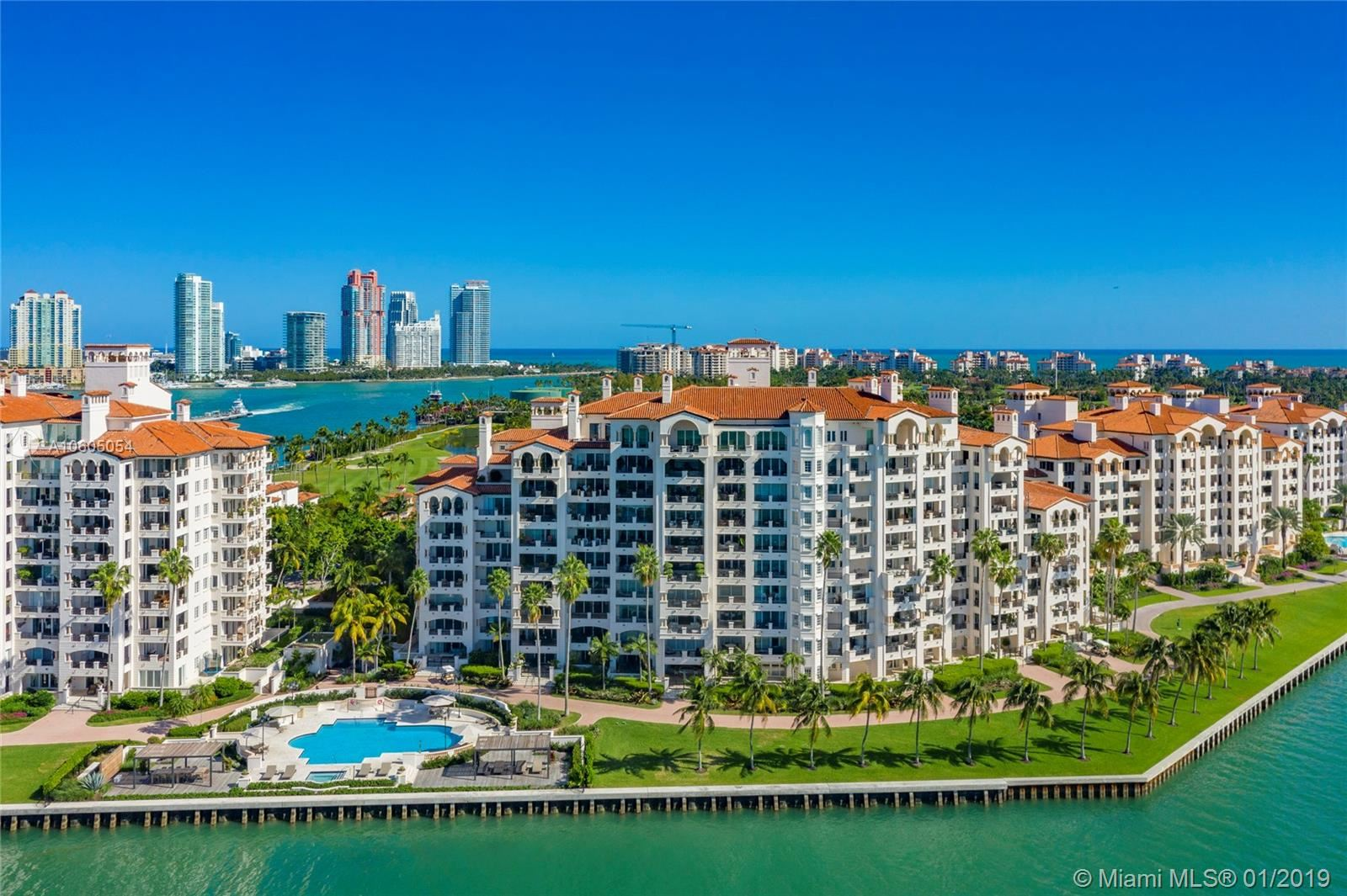 Photo 2 of Listing MLS a10605054 in 5203 Fisher Island Drive #5203 Miami FL 33109
