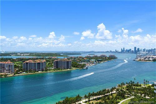 Photo of 100 S Pointe Dr #2701, Miami Beach, FL 33139 (MLS # A10884057)