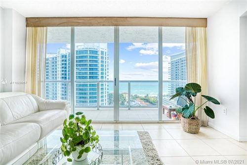 Photo of 5900 Collins Ave #1506, Miami Beach, FL 33140 (MLS # A11028057)