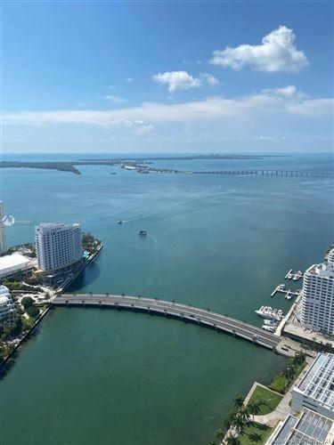 Photo of 495 Brickell Ave #5305, Miami, FL 33131 (MLS # A11059057)