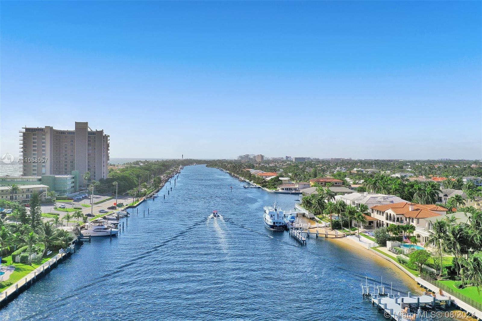 Photo of 1043 Hillsboro Mile #17D, Hillsboro Beach, FL 33062 (MLS # A11088057)