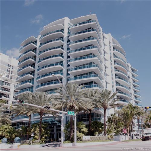 Photo of 9401 Collins Ave #1002, Surfside, FL 33154 (MLS # A10797060)