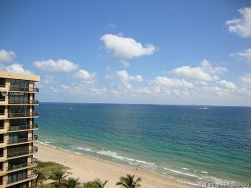 Photo of 1340 S Ocean Dr. #1003, Pompano Beach, FL 33062 (MLS # A10904060)