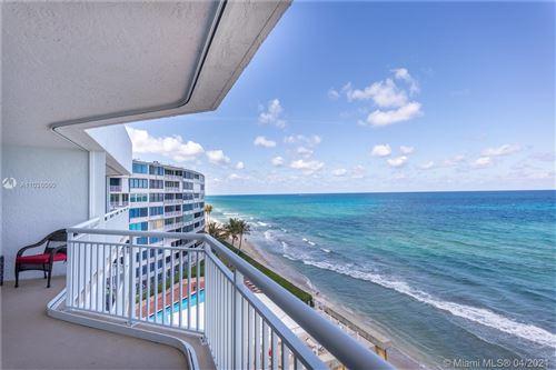 Photo of 3600 S Ocean Blvd #603, South Palm Beach, FL 33480 (MLS # A11026060)