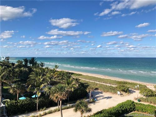 Photo of 8777 Collins Ave #202, Surfside, FL 33154 (MLS # A10758062)