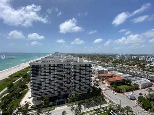 Photo of 9601 Collins Ave #1708, Bal Harbour, FL 33154 (MLS # A10926064)