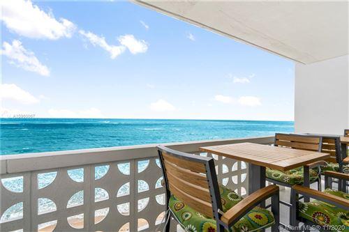 Photo of 4010 Galt Ocean Dr #703, Fort Lauderdale, FL 33308 (MLS # A10960067)