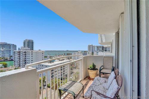 Photo of 1621 Bay Rd #1006, Miami Beach, FL 33139 (MLS # A11057067)