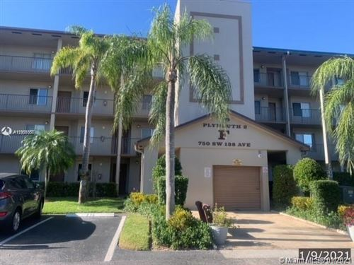 Photo of 750 SW 138th Ave #106F, Pembroke Pines, FL 33027 (MLS # A11101067)