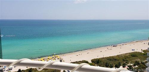 Photo of 6301 Collins Ave #1703, Miami Beach, FL 33141 (MLS # A10626070)