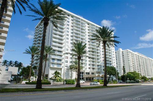 Photo of 5701 Collins Ave #PH01, Miami Beach, FL 33140 (MLS # A10744070)