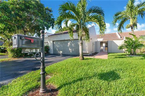 Photo of 541 Patio Village Way, Weston, FL 33326 (MLS # A11097072)