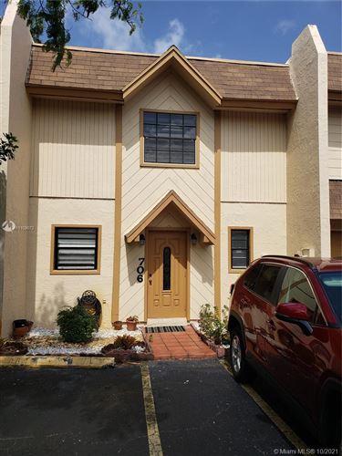 Photo of 3900 SW 52nd Ave #706, Pembroke Park, FL 33023 (MLS # A11109072)