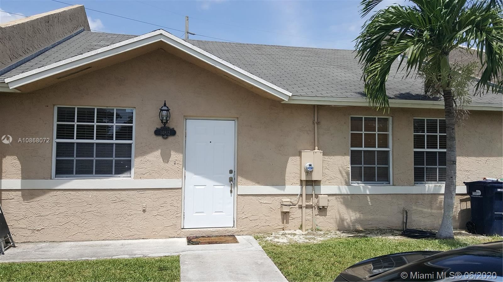 14812 SW 116th Ave, Miami, FL 33176 - #: A10868072