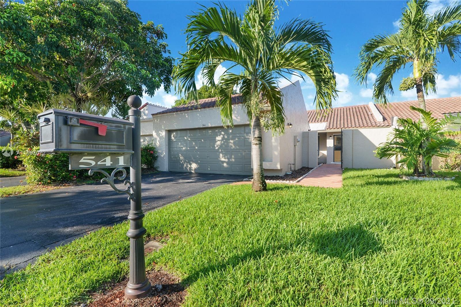 541 Patio Village Way, Weston, FL 33326 - #: A11097072