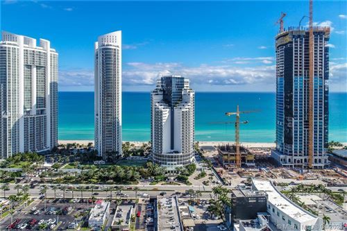 Photo of 18001 Collins Ave #802, Sunny Isles Beach, FL 33160 (MLS # A10983075)
