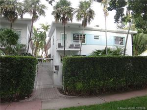 Foto de inmueble con direccion 901 Meridian Ave #101 Miami Beach FL 33139 con MLS A10616076
