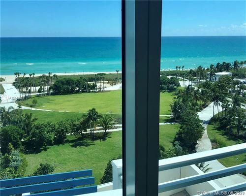 Photo of 7600 Collins Ave #PH-1210, Miami Beach, FL 33141 (MLS # A11044077)