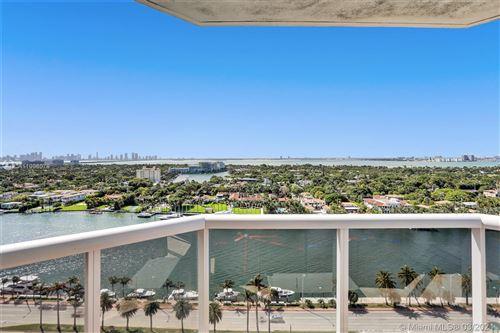Photo of 4779 COLLINS AV #1907, Miami Beach, FL 33140 (MLS # A11008079)