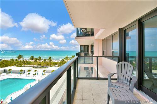 Photo of 5225 Collins Ave #806, Miami Beach, FL 33140 (MLS # A11036081)
