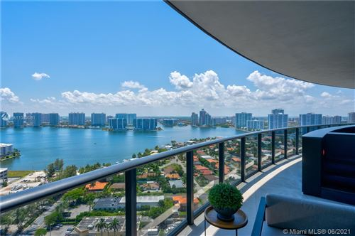 Photo of 18555 Collins Ave #2403, Sunny Isles Beach, FL 33160 (MLS # A11049081)