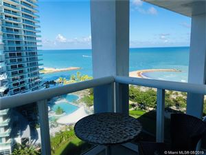 Photo of 10275 Collins Ave #1404, Bal Harbour, FL 33154 (MLS # A10714082)