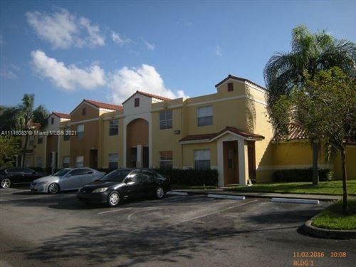 Photo of 3821 NW 90th Ave #3821, Sunrise, FL 33351 (MLS # A11116083)