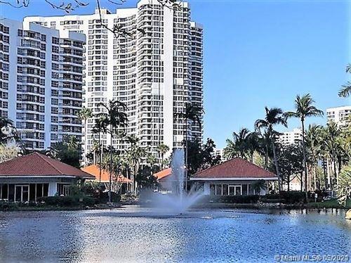 Photo of 3500 Mystic Pointe Dr #1801, Aventura, FL 33180 (MLS # A10986084)