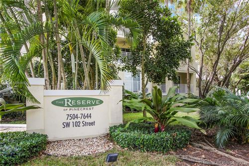 Photo of 7584 SW 102nd St #101, Pinecrest, FL 33156 (MLS # A11021085)