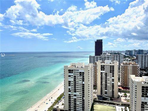 Photo of 1850 S Ocean Dr #3103, Hallandale Beach, FL 33009 (MLS # A11100085)