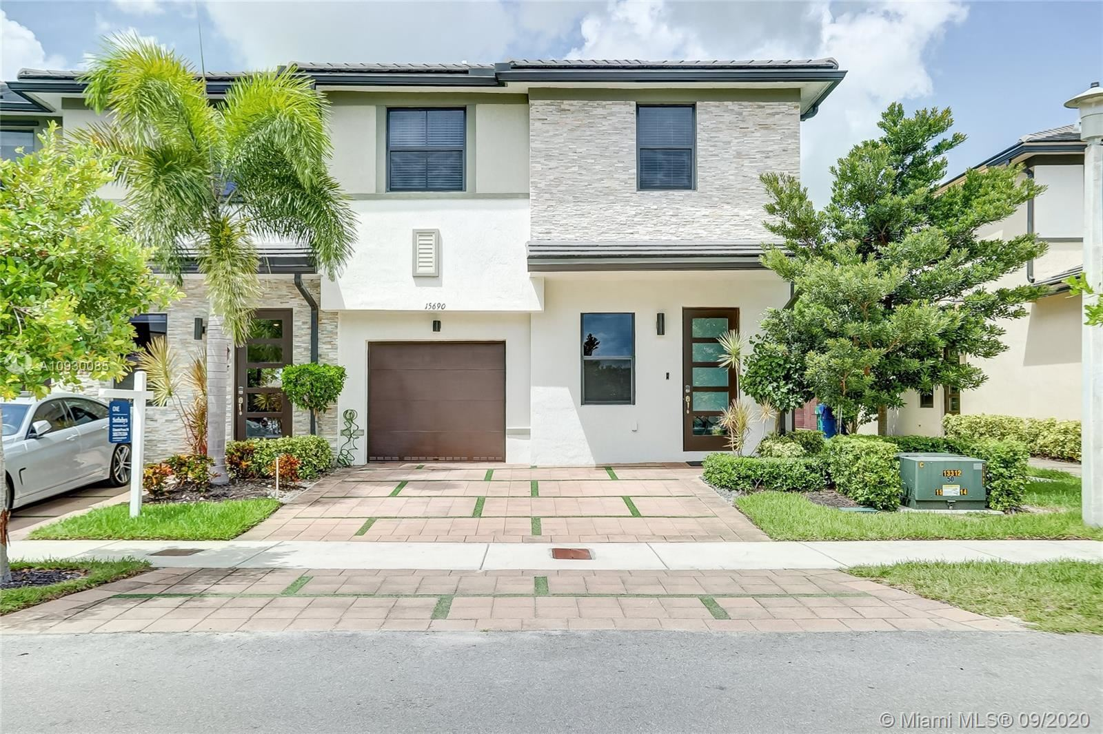 15690 NW 91st Ct #15690, Miami Lakes, FL 33018 - #: A10930085