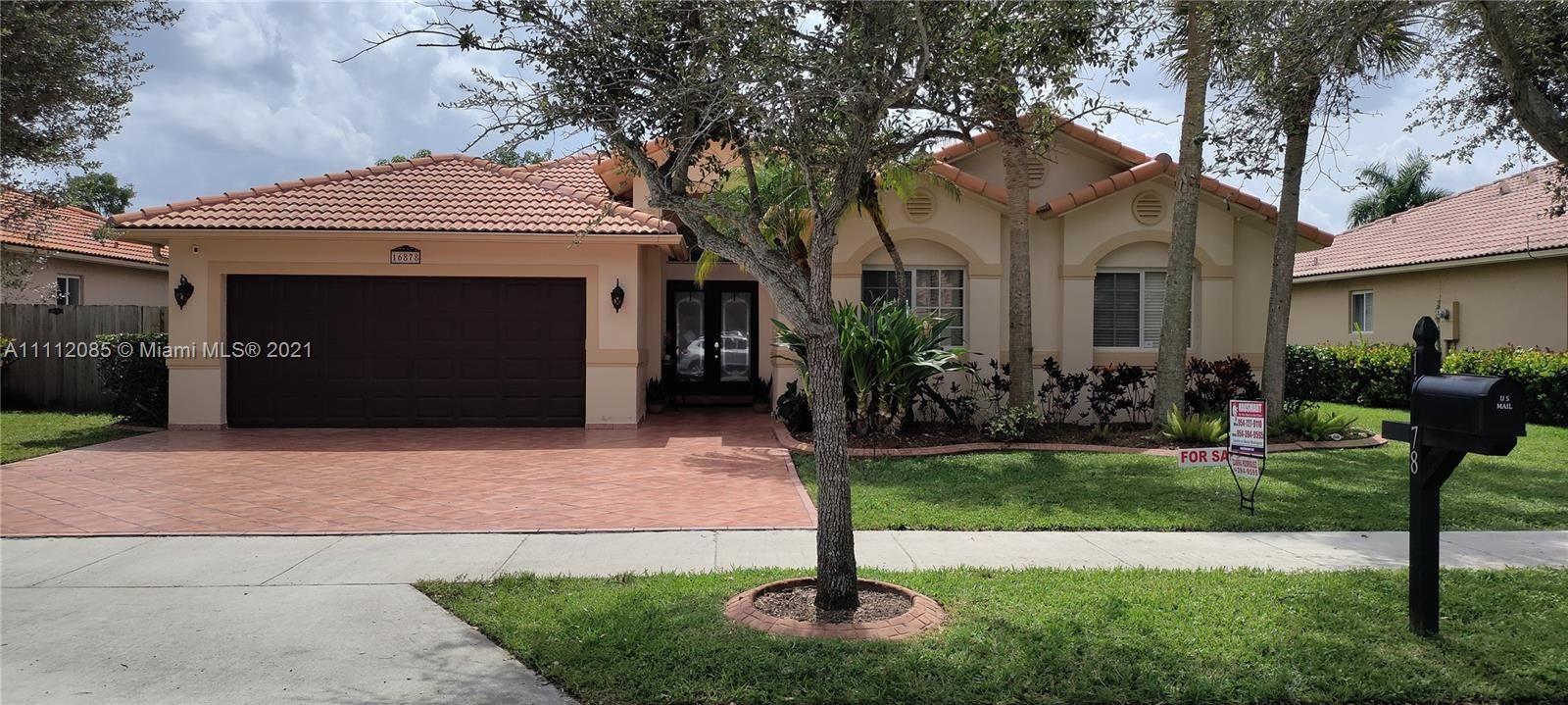 16878 Crestview Ln, Weston, FL 33326 - #: A11112085