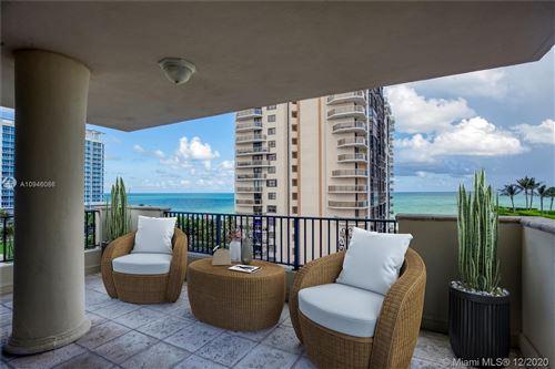 Photo of 6422 Collins Ave #802, Miami Beach, FL 33141 (MLS # A10946086)