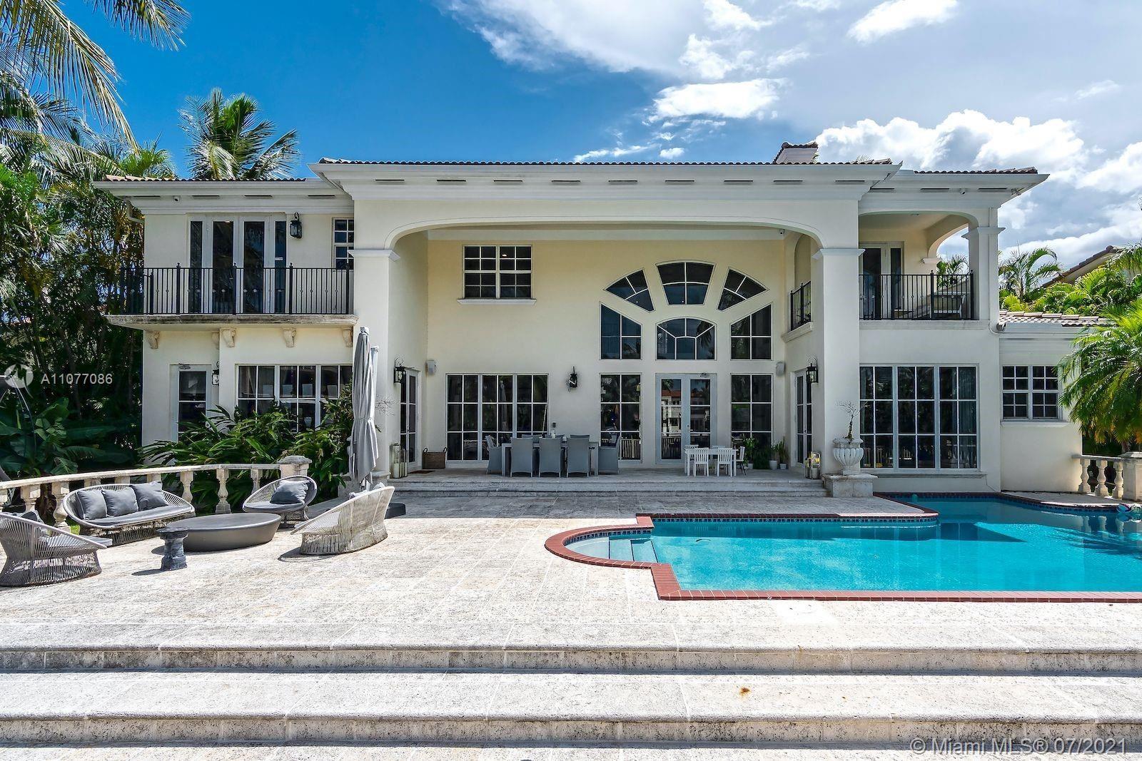 Photo of 455 Center Island Drive, Golden Beach, FL 33160 (MLS # A11077086)