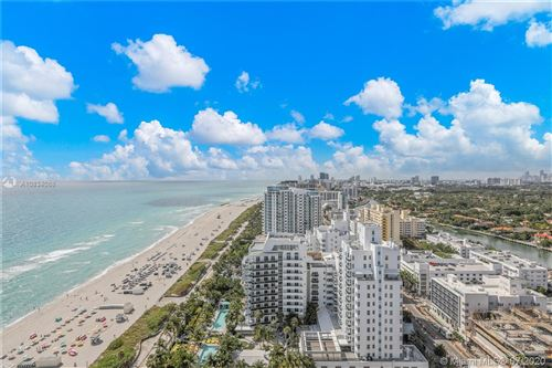 Photo of 4201 Collins Ave #2501, Miami Beach, FL 33140 (MLS # A10834088)