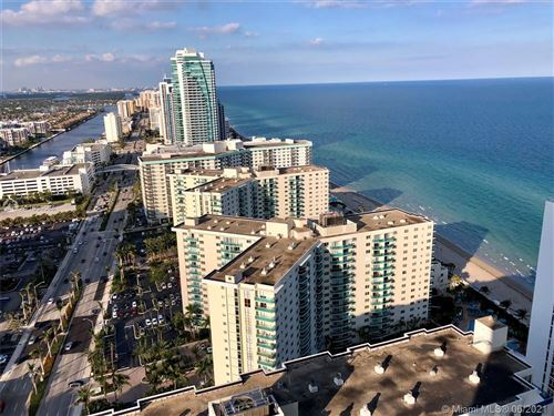 Photo of 4111 S Ocean Dr #2910, Hollywood, FL 33019 (MLS # A11054088)