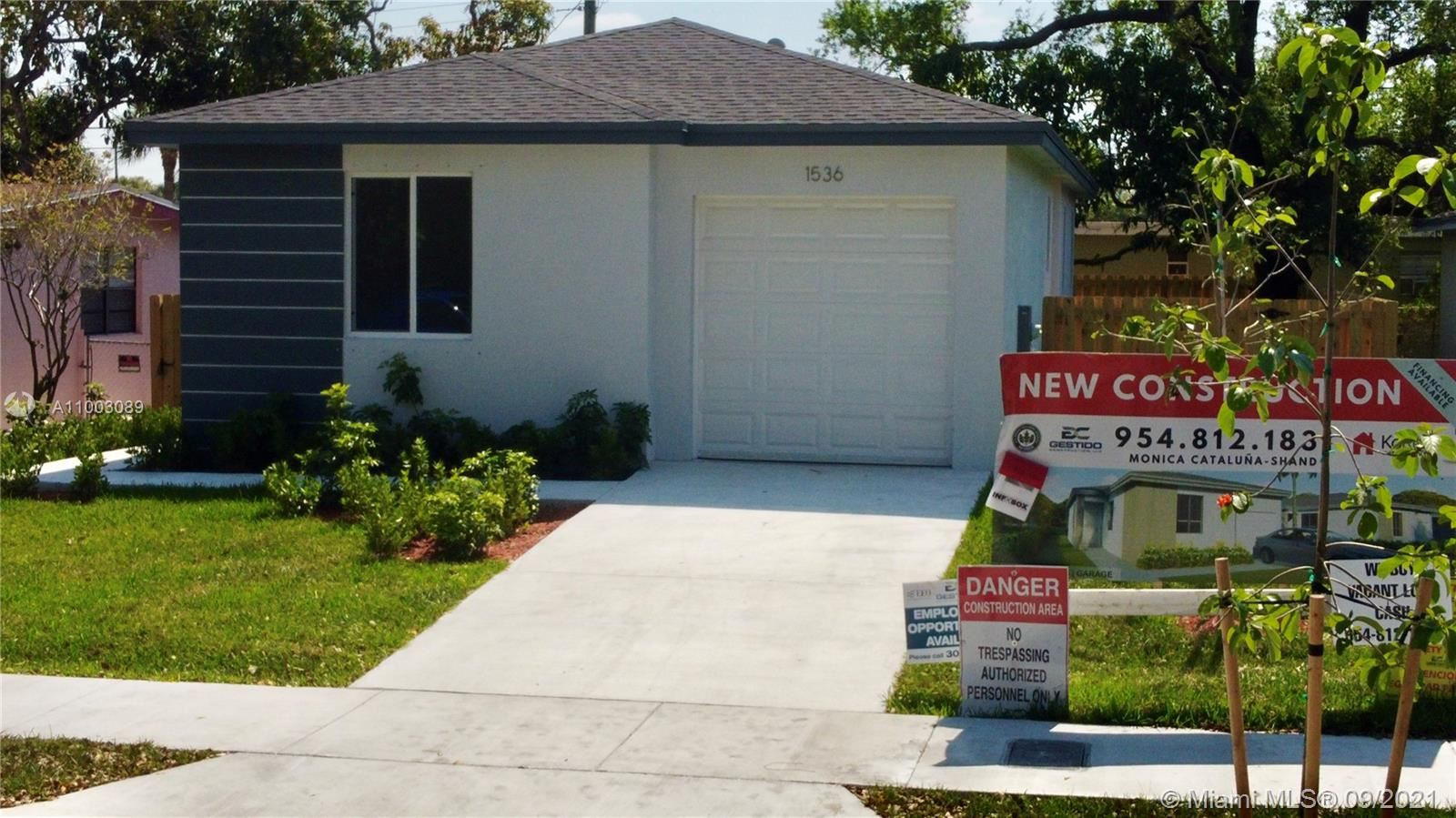 1612 NW 5th St, Fort Lauderdale, FL 33311 - #: A11003089