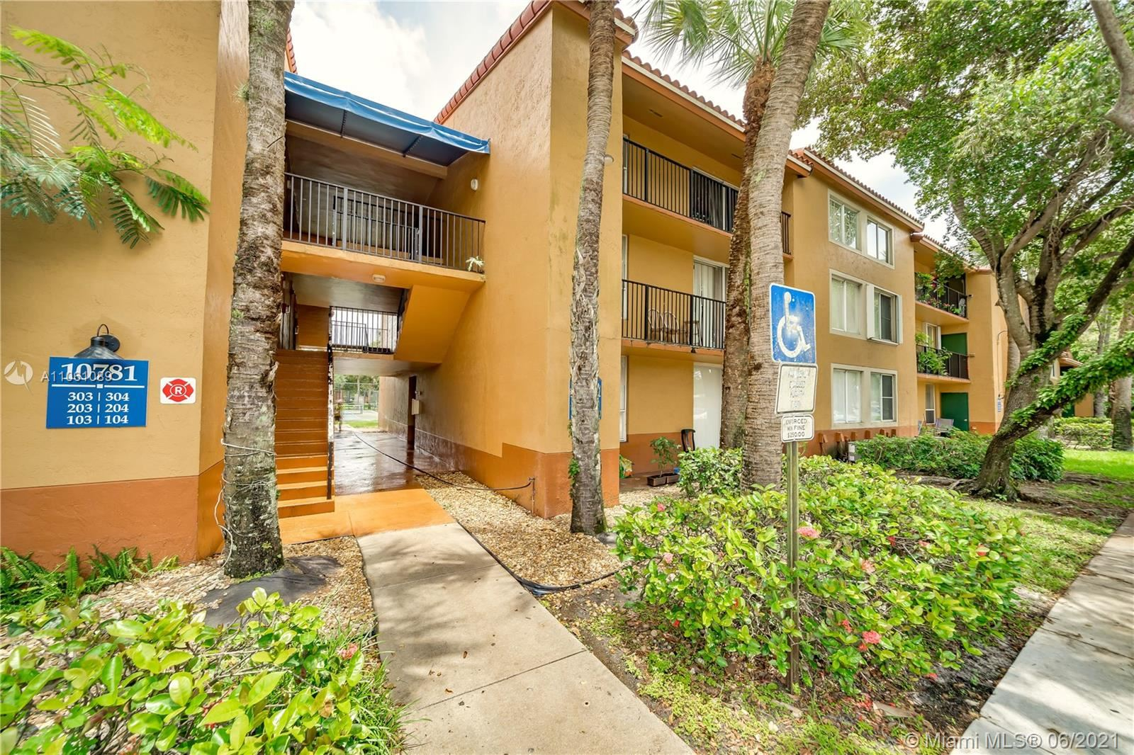 Photo of 10781 Cleary Blvd #306, Plantation, FL 33324 (MLS # A11061089)