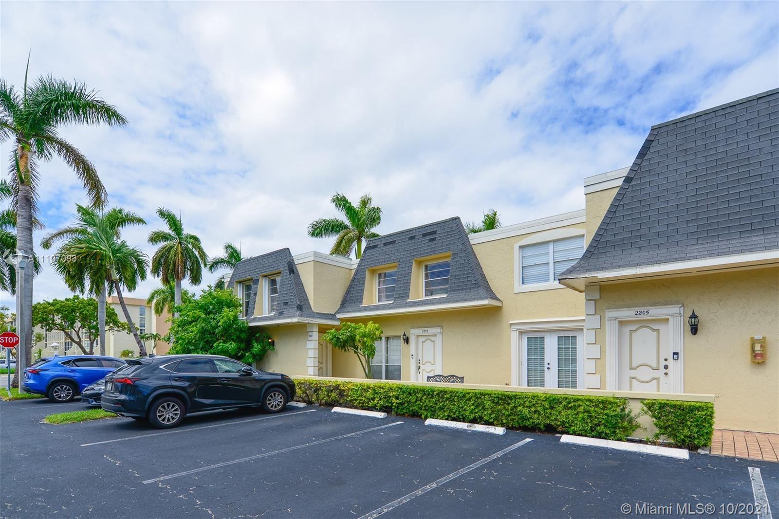 2203 NE 7th St #14, Hallandale Beach, FL 33009 - #: A11107093