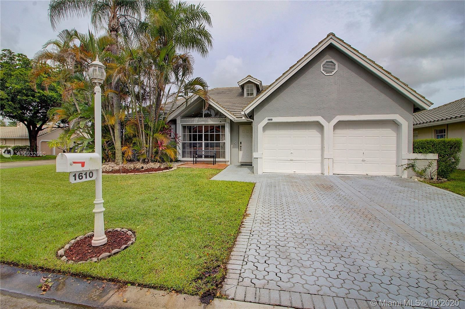 1610 NW 106th Ln, Coral Springs, FL 33071 - #: A10932098