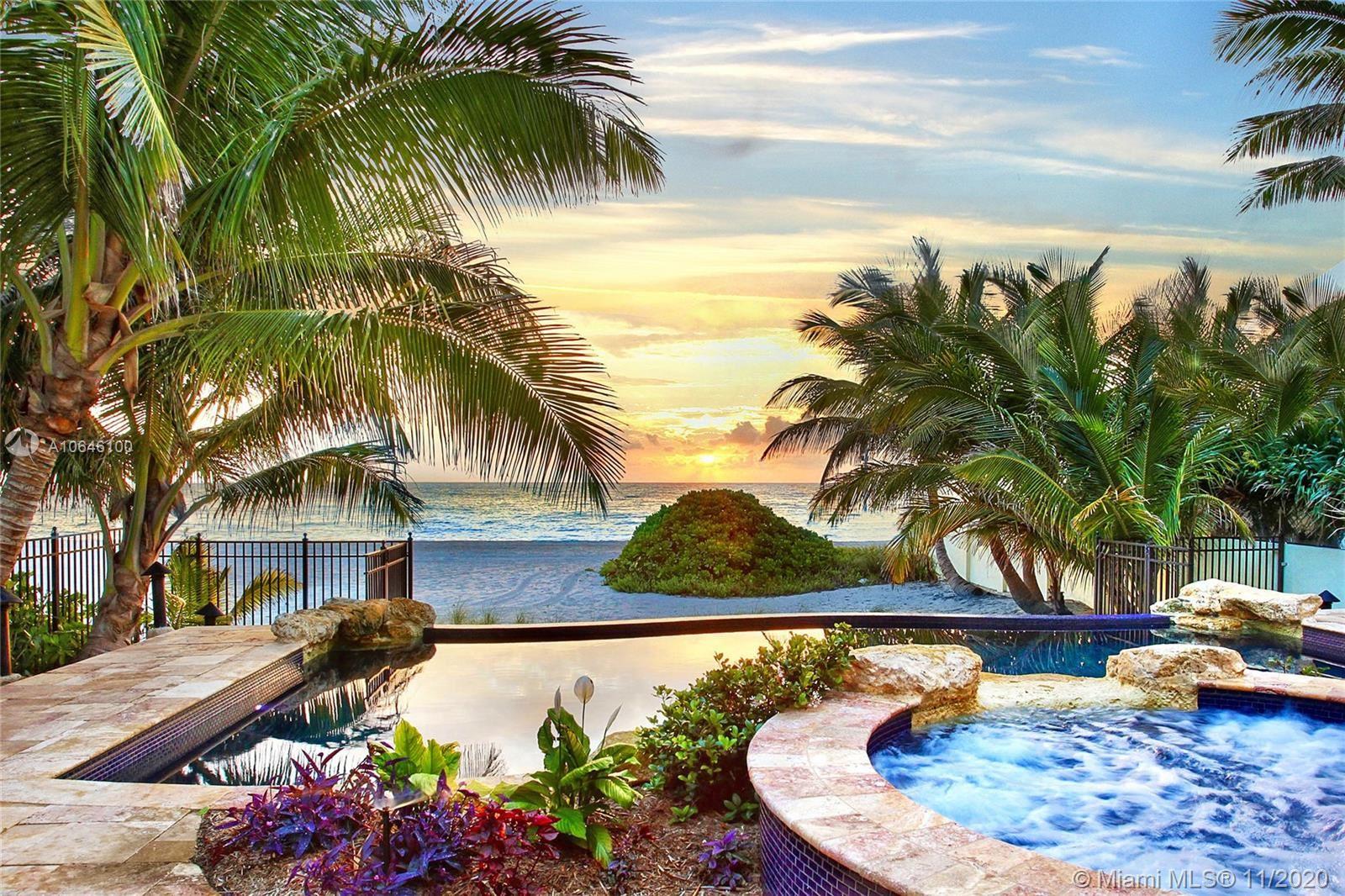 Photo of 101 Ocean Blvd, Golden Beach, FL 33160 (MLS # A10646100)