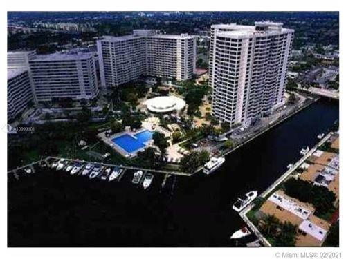 Photo of 500 Three Islands Blvd #807, Hallandale Beach, FL 33009 (MLS # A10999101)