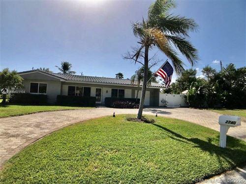 Photo of 2740 NE 24th Street, Lighthouse Point, FL 33064 (MLS # A10823104)