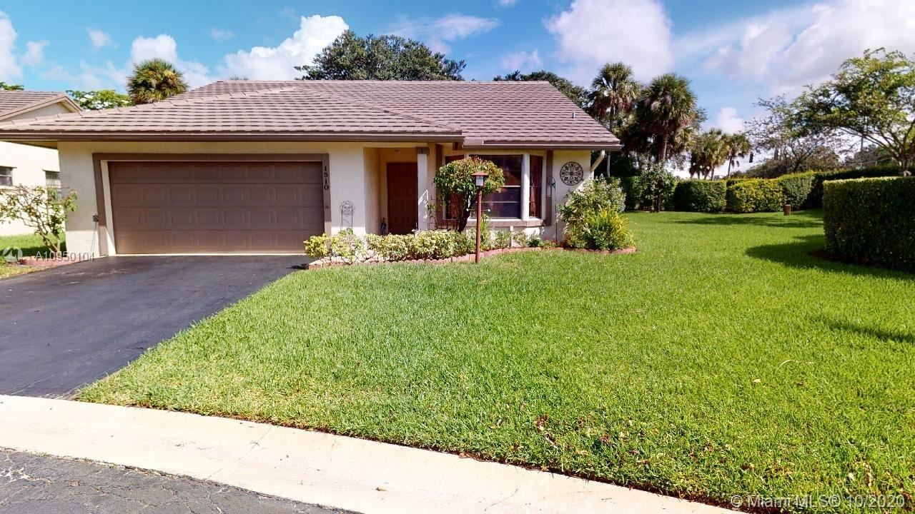 1510 Lakeview Cir, Coral Springs, FL 33071 - #: A10950104